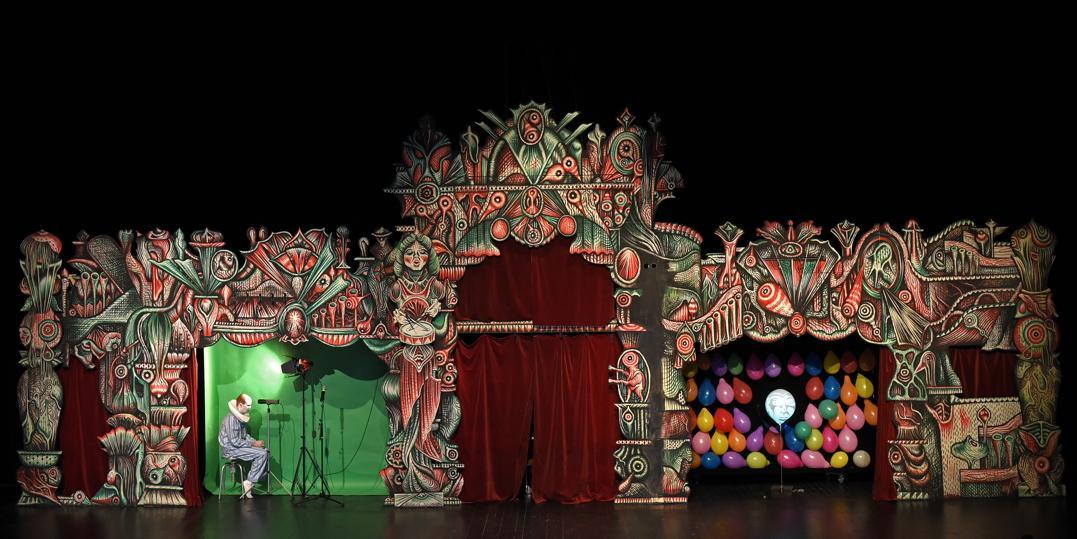 Blanquet - 2015 - décors Richard III - en répetition