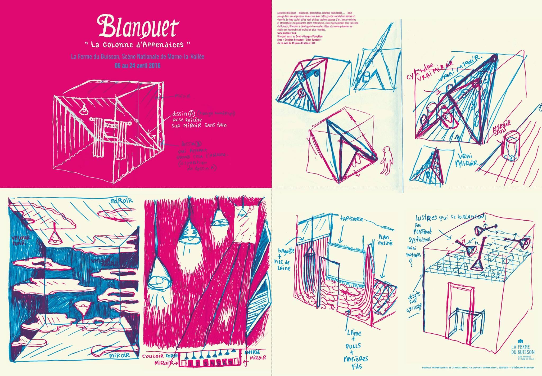 Blanquet - projet - 2016 - Colonne - poster face A