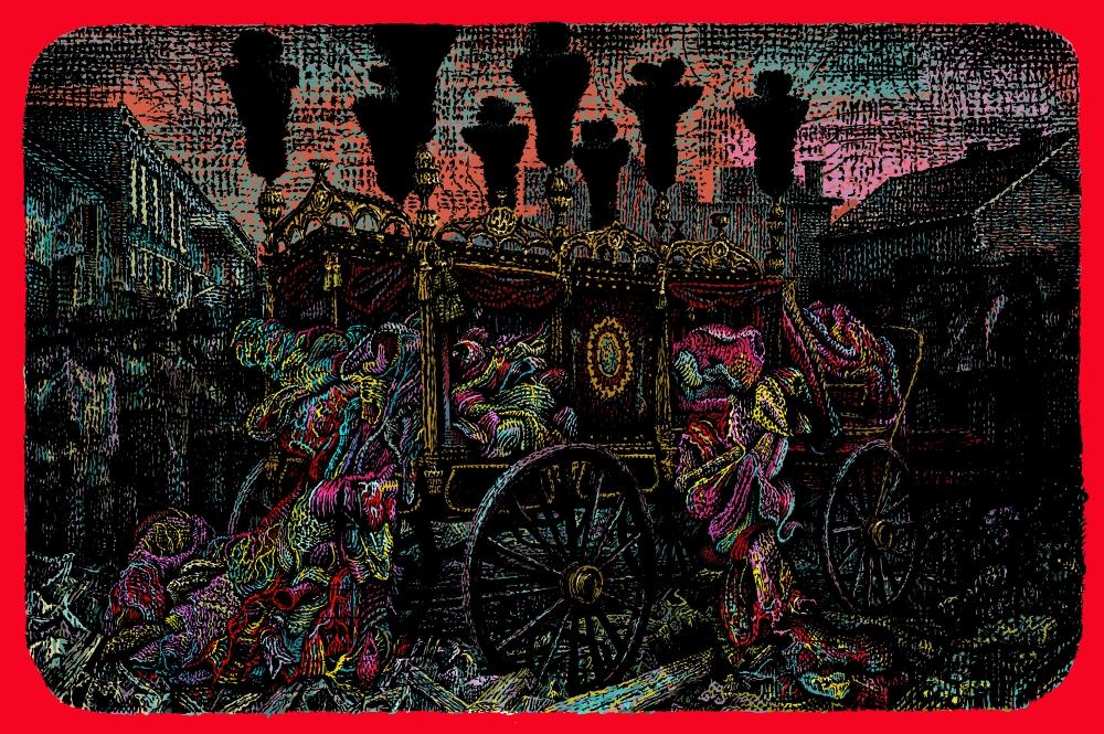 Stephane Blanquet - tapisserie - 2015 - Le Reve Ecarlate - lg